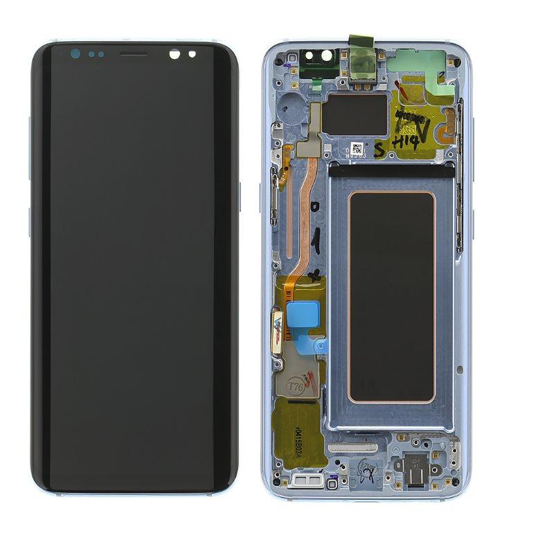 LCD displej + dotyková plocha pro Samsung Galaxy S8-G950F, Midnight Black