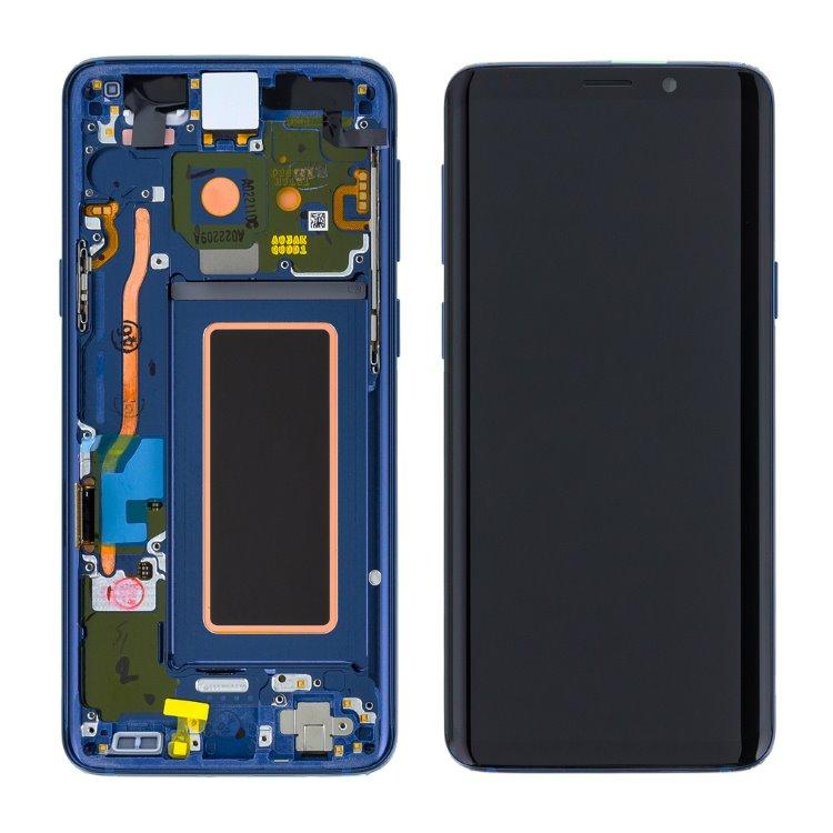 LCD displej + dotyková plocha pro Samsung Galaxy S9-G960F, Coral Blue