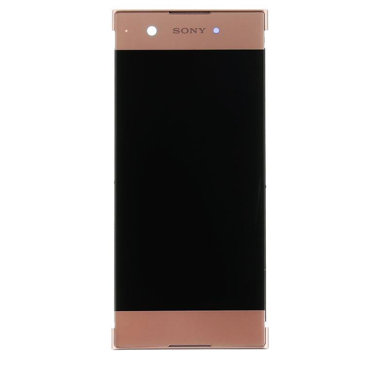 LCD displej + dotyková plocha + přední kryt pro Sony Xperia XA1-G3121, Rose