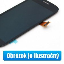 LCD displej krycí sklo dotyková plocha pro HTC One-M7, Silver