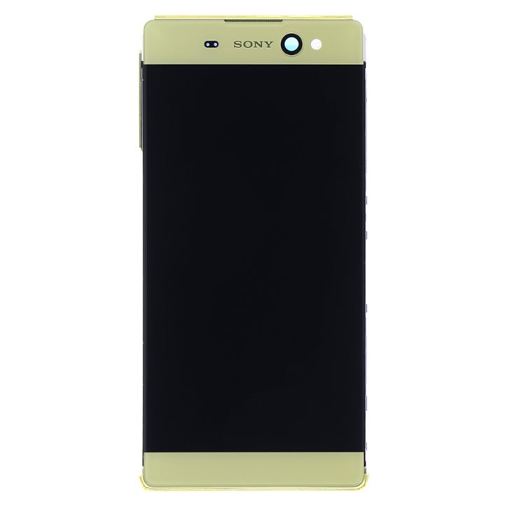 LCD displej + krycí sklo + dotyková plocha pro Sony Xperia XA Ultra-F3211, Gold