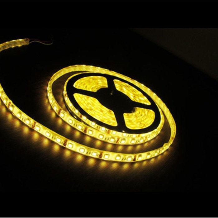 LED pas-5m-5050 SMD-60 ks LED/m, teplá bílá