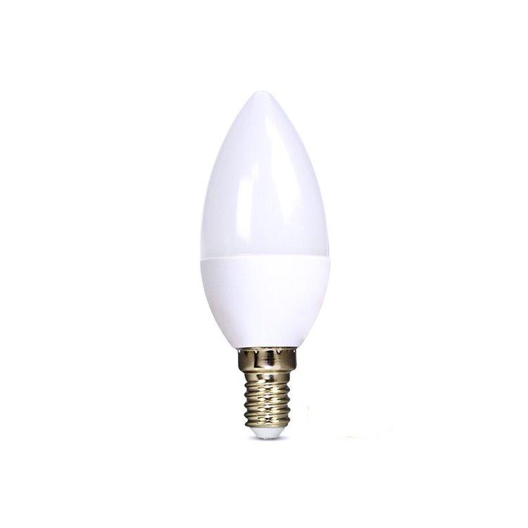 LED žárovka Solight 6W, E14, 6000K, 450lm