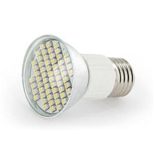 LED žárovka WhiteEnergy-E27-3W-60xSMD, studená bílá