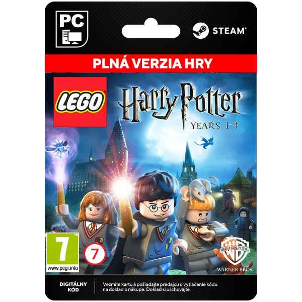 LEGO Harry Potter: Years 1-4[Steam]