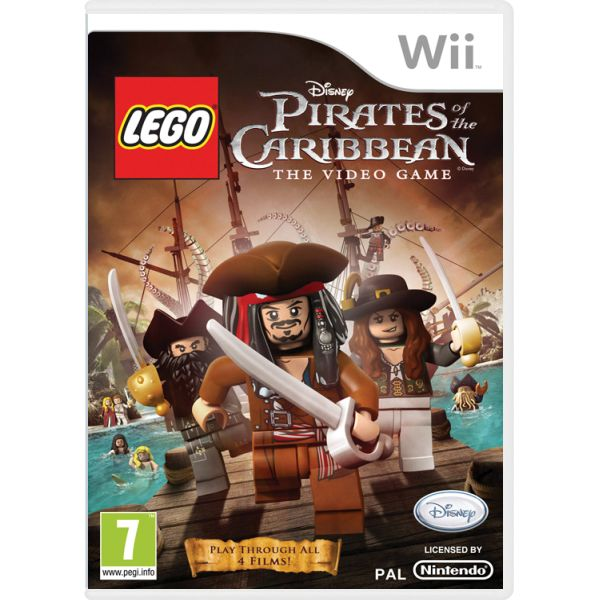 LEGO Pirates of the Caribbean: The Video Game Wii