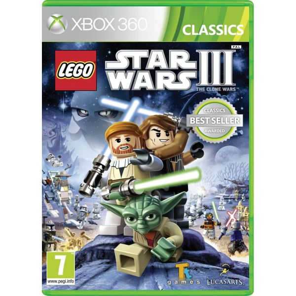 LEGO Star Wars 3: The Clone Wars XBOX 360