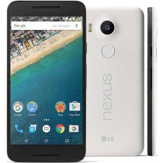 LG Nexus 5x, 32GB, White - CZ distribuce
