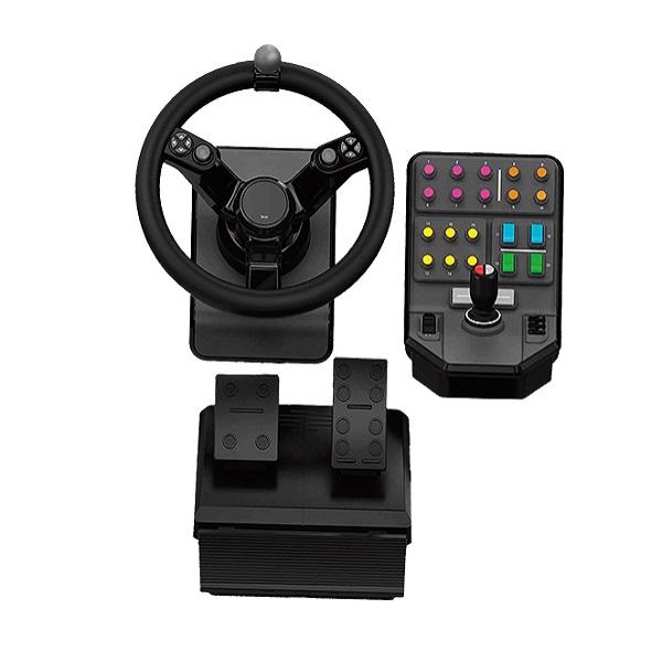 Logitech G Heavy Equipment Bundle Farm Sim Controller.