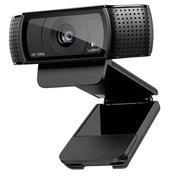 Logitech HD Pro Webam C920 Central Packaging