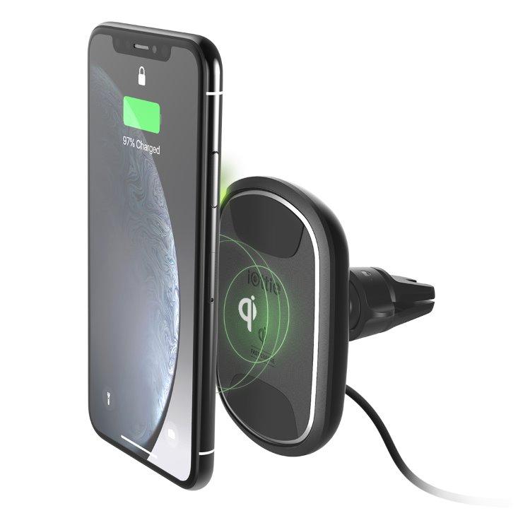 Magnetický držák do auta Iotti ITAP 2 Wireless s podporou bezdrátového nabíjení do ventilace