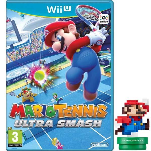 Mario Tennis Ultra Smash + amiibo Modern Colours Mario Wii U