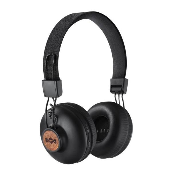 Marley Positive Vibration 2 bezdrátová sluchátka, černá