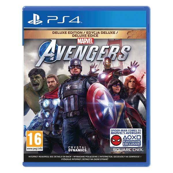 Marvel 's Avengers CZ (Deluxe Edition)