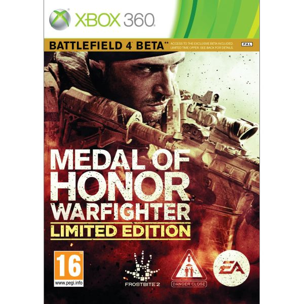 Medal of Honor: Warfighter (Limited Edition) XBOX 360