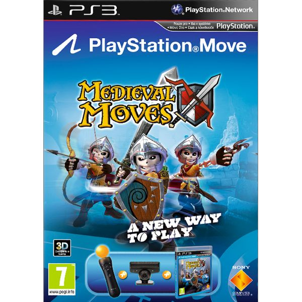 Medieval Moves Sony PlayStation Move Starter Pack PS3