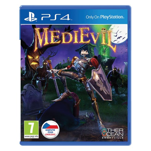 MediEvil CZ[PS4]-BAZAR (použité zboží)