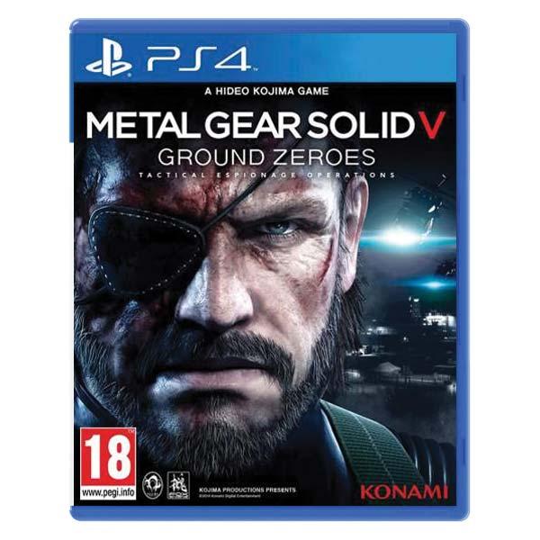 Metal Gear Solid 5: Ground zeroes[PS4]-BAZAR (použité zboží)