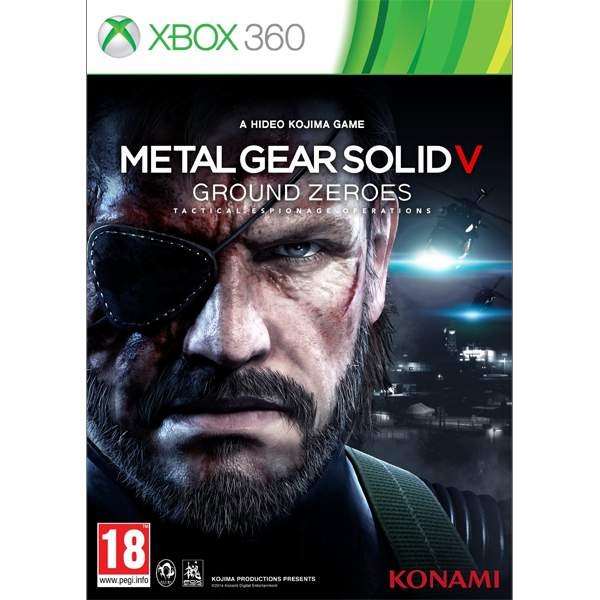 Metal Gear Solid 5: Ground zeroes XBOX 360