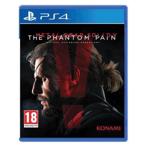 Metal Gear Solid 5: The Phantom Pain [PS4] - BAZAR (použité zboží)