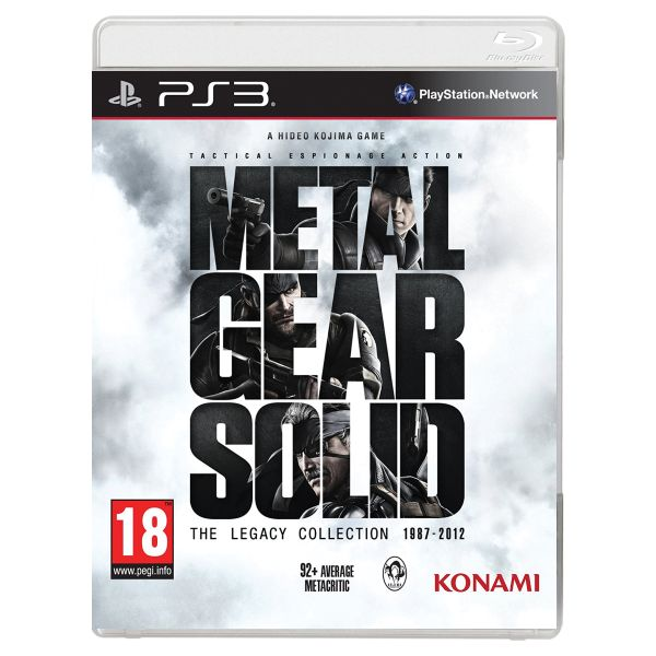 Metal Gear Solid (The Legacy Collection 1987-2012)[PS3]-BAZAR (pou�it� zbo��)