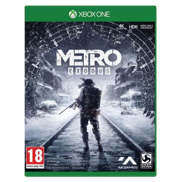 Metro Exodus CZ[XBOX ONE]-BAZAR (použité zboží)