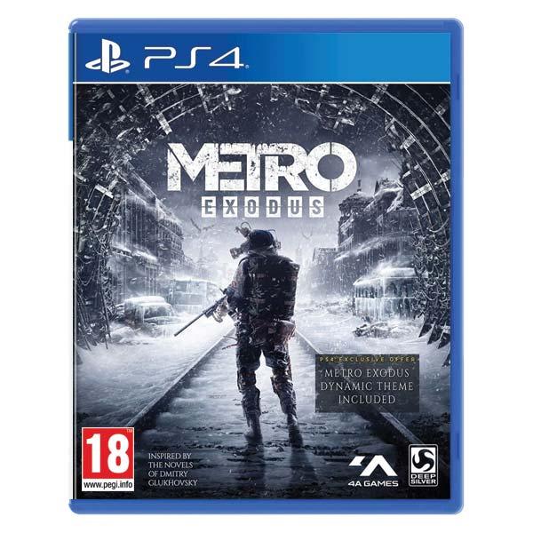 Metro Exodus CZ[PS4]-BAZAR (použité zboží)