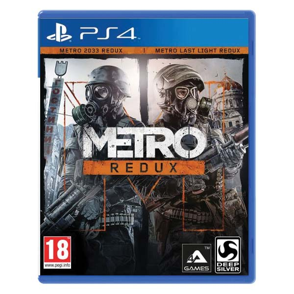 Metro Redux CZ PS4