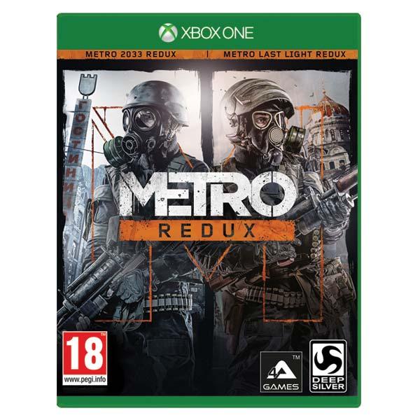Metro Redux[XBOX ONE]-BAZAR (použité zboží)