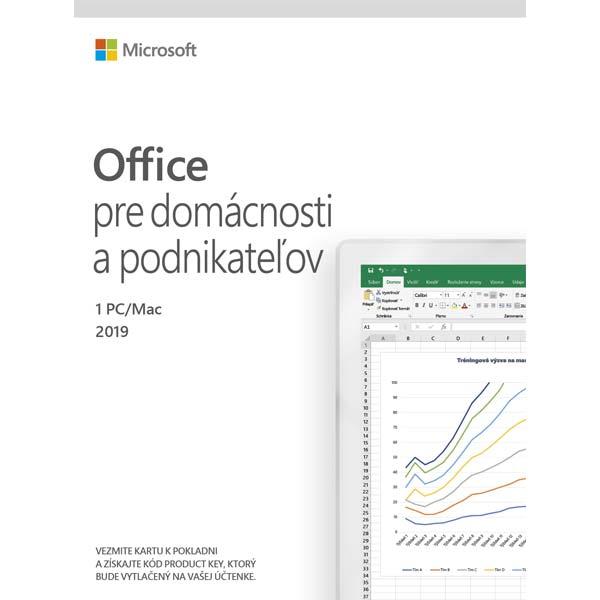 Microsoft 2019 pro domácnost a podnikatele-12 měsíců