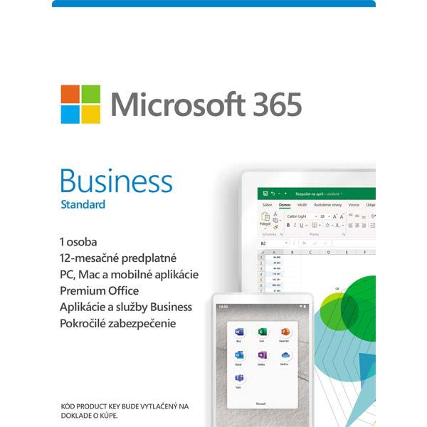 Microsoft 365 Business Standard-12 měsíců