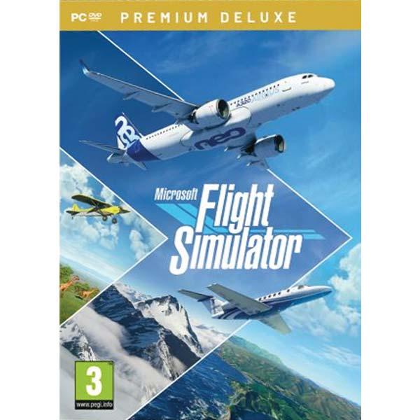 Microsoft Flight Simulator (Premium Deluxe) PC