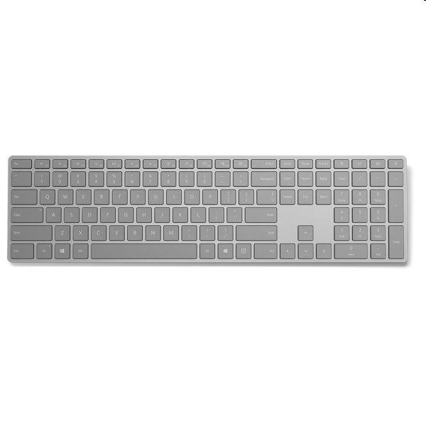 Microsoft Surface Keyboard Sling Bluetooth 4.0 CZ/SK, šedá