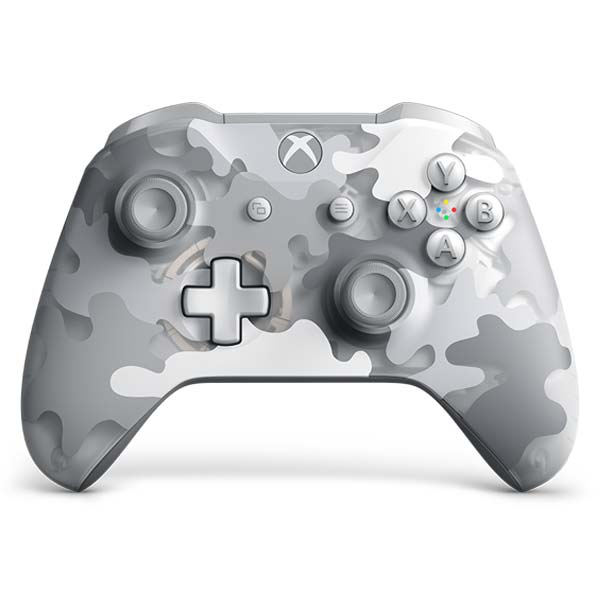 Microsoft Xbox One S Wireless Controller, arctic camo