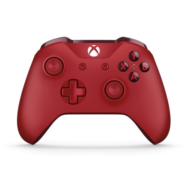 Microsoft Xbox One S Wireless Controller, red