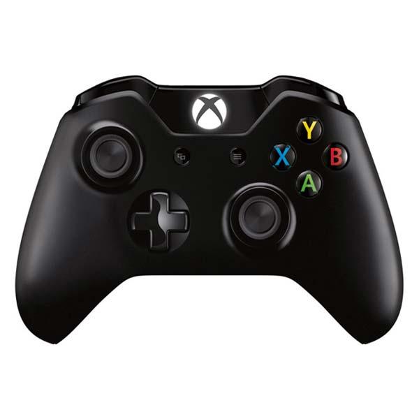 Microsoft Xbox One Wireless Controller, black-BAZAR (použité zboží, smluvní záruka 12 měsíců)