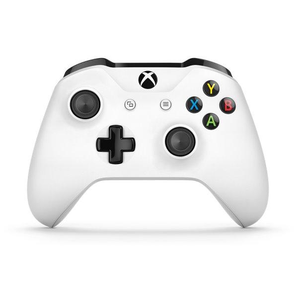 Microsoft Xbox One S Wireless Controller, white