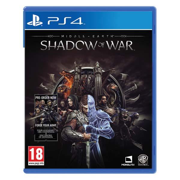 Middle-Earth: Shadow of War[PS4]-BAZAR (použité zboží)
