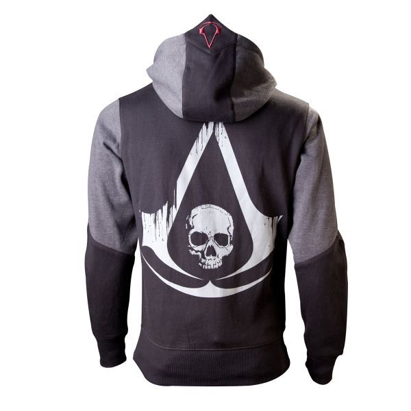 Mikina Assassin Creed 4: Black Flag, black XXL