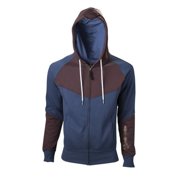 Mikina Assassin Creed: Unity, blue/brown XL