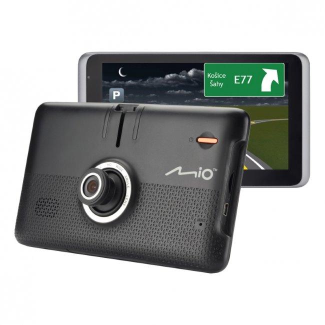 Mio MiVue Drive 65LM-Navigace + HD kamera do auta + Paměťová karta 16 GB