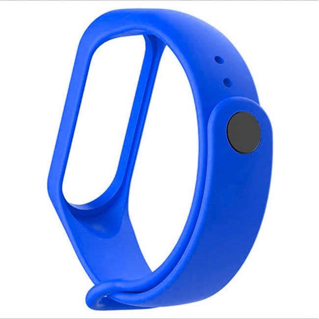 Modrý náramek pro Xiaomi MiBand 3 a 4