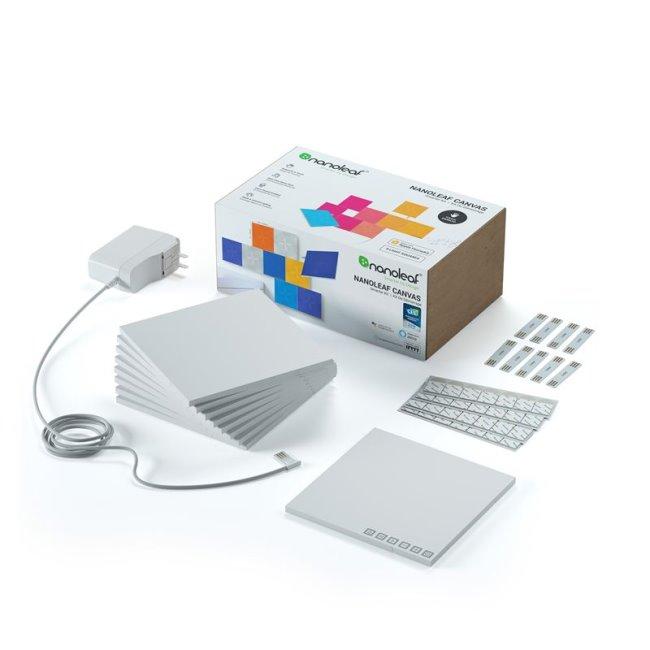 Modulární smart osvětlení Nanoleaf Canvas Smarter Kit 9 Pack