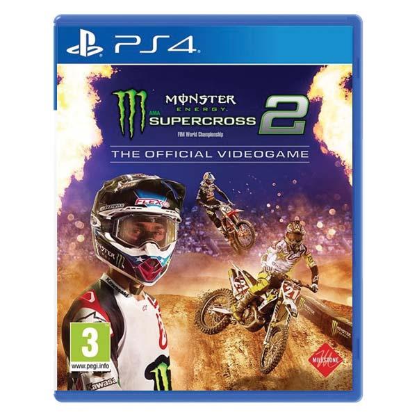Monster Energy: Supercross 2 PS4