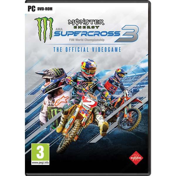 Monster Energy Supercross 3 PC