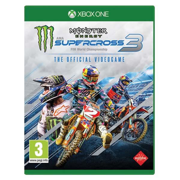 Monster Energy Supercross 3 XBOX ONE