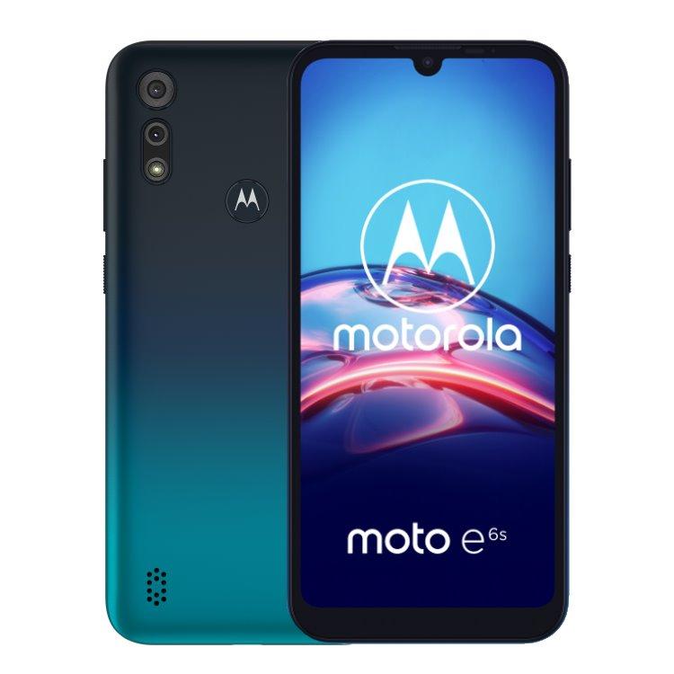 Motorola Moto E6s, Dual SIM, Peacock Blue-CS distribuce