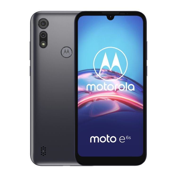 Motorola Moto E6s, 4/64GB, Dual SIM, Meteor Grey - CZ distribuce