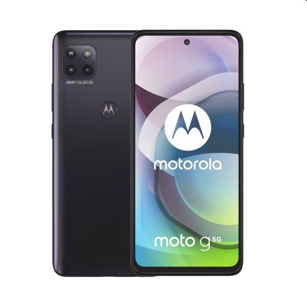 Motorola Moto G 5G, 6/128GB, Dual SIM, volcanic grey - SK distribúcia