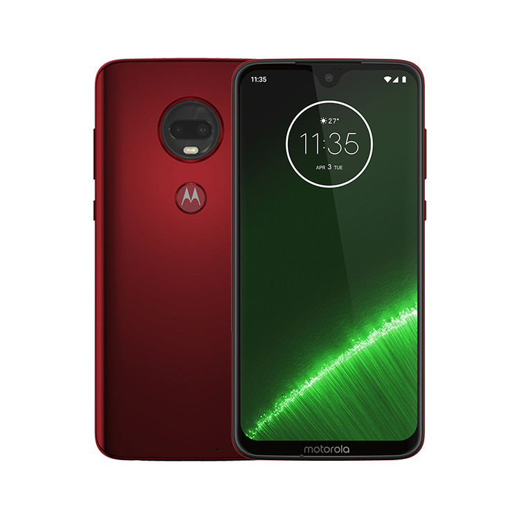 Motorola Moto G7 Plus, Dual SIM, Red-CZ distribuce